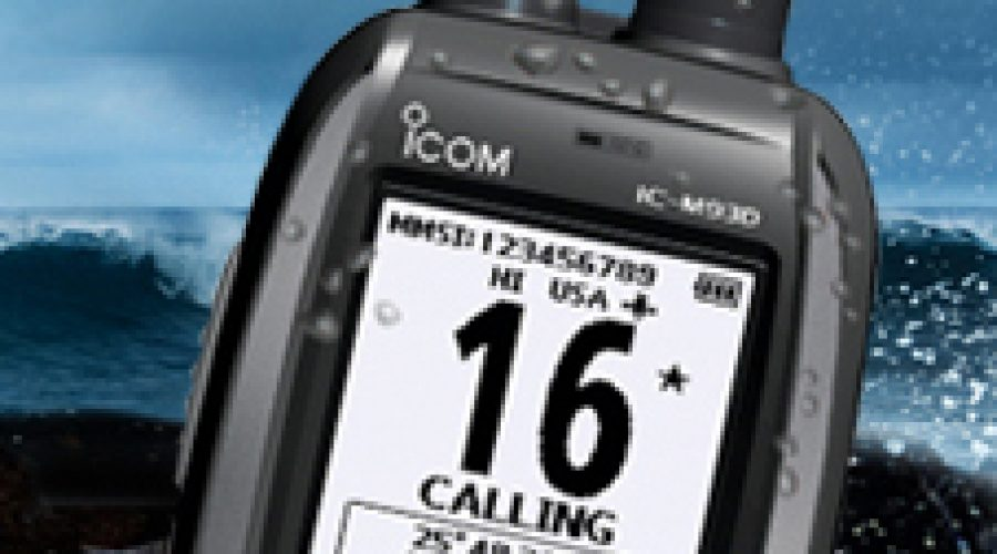Increased Safety At Sea. Introducing Icom's New Floating Marine VHF Handheld Radio